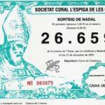 Ja a la venda la loteria de l'Espiga