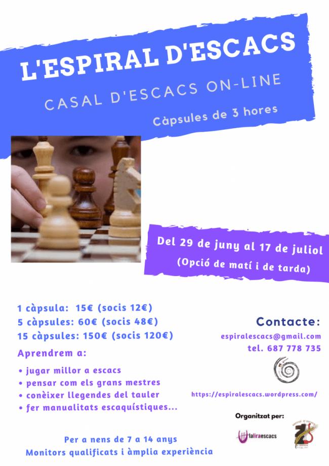 Casal ONLINE d'Escacs