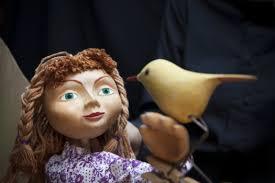 La bruixa Blava, un matí de titelles a a l'Espiga (2on passi)