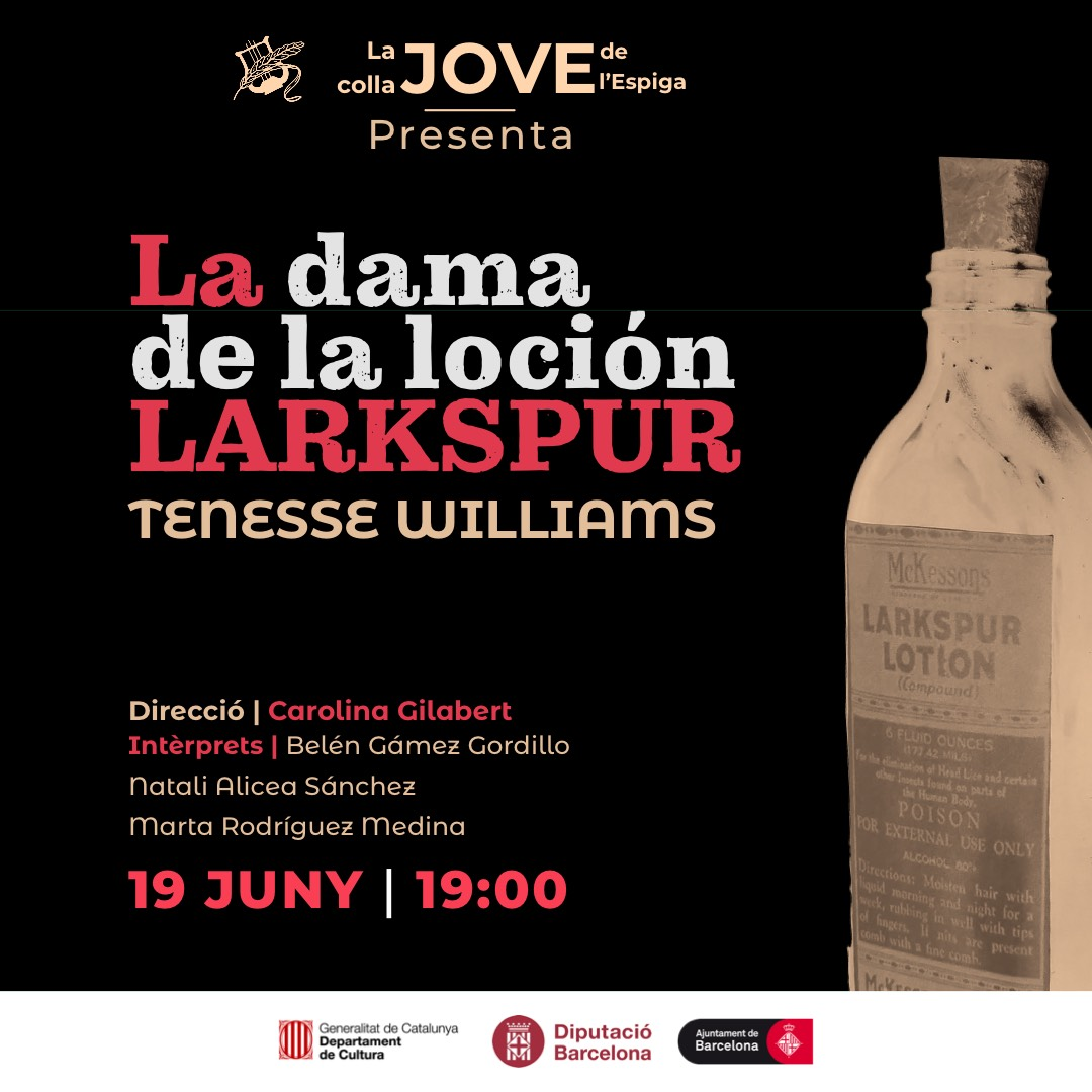 """Teatre: """"La dama de la loción Larkspur"""" de Tenesse Williams."""