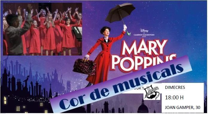 El cor Faristol prepara el musical Mary Poppins amb nois i noies de 7 a 10 anys.