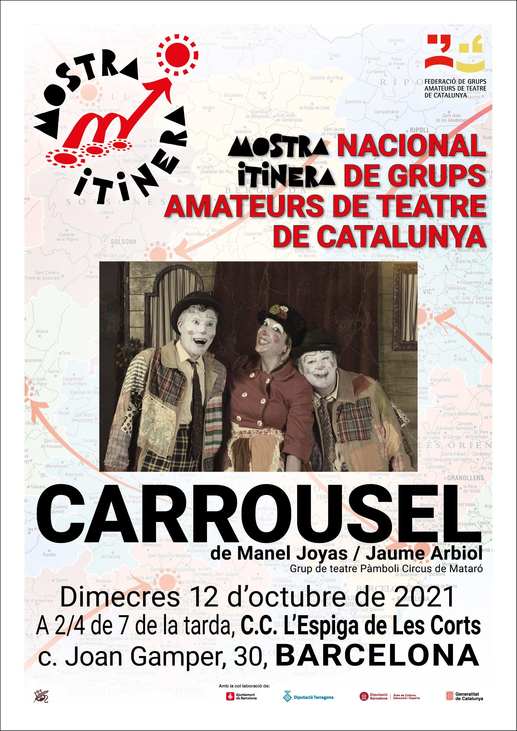 """""""Carrousel"""", una tarda de pallassos amb Pamboli Circus de Mataró"""